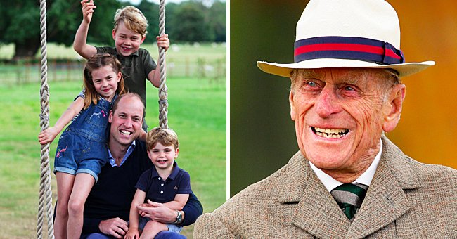 Us Weekly: Prince William's Kids Are Upset Over Their Great-Grandpa Prince Philip's Death