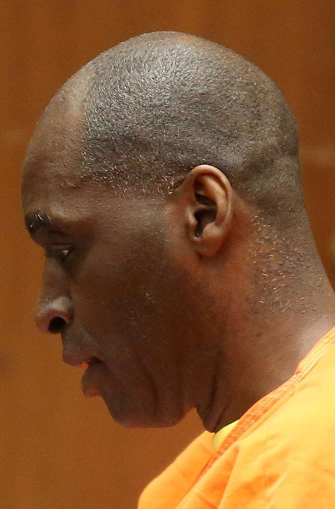 Actor Michael Jace appears in court where he was sentenced to 40 years to life in prison for the murder of his wife, at Clara Shortridge Foltz Criminal Justice Center on June 10, 2016    Photo: Getty Images