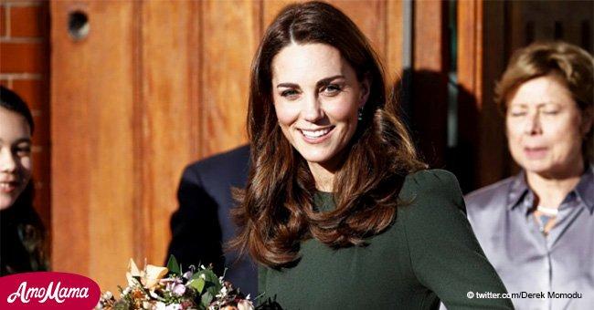 Smaragdkönigin! Kate Middleton erscheint in einem eleganten Outfit, um Kinder und Jugendliche zu unterstützen