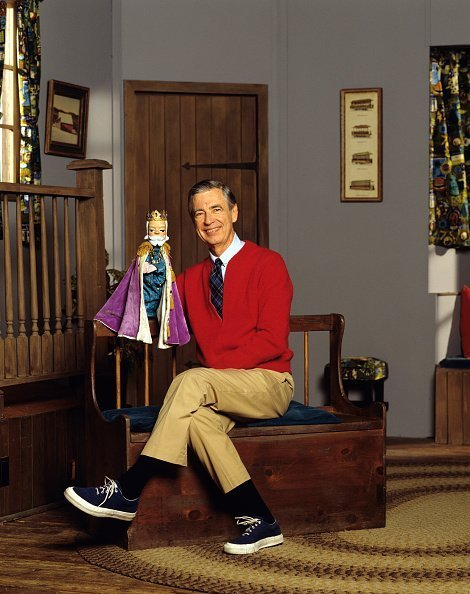 Portrait of American educator and television personality Fred Rogers of the television series 'Mister Rogers' Neighborhood | Photo: Getty Images