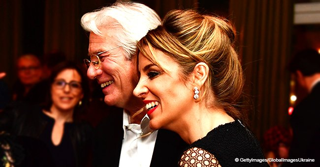 69-year-old Richard Gere and his 35-year-old wife welcome their first child together