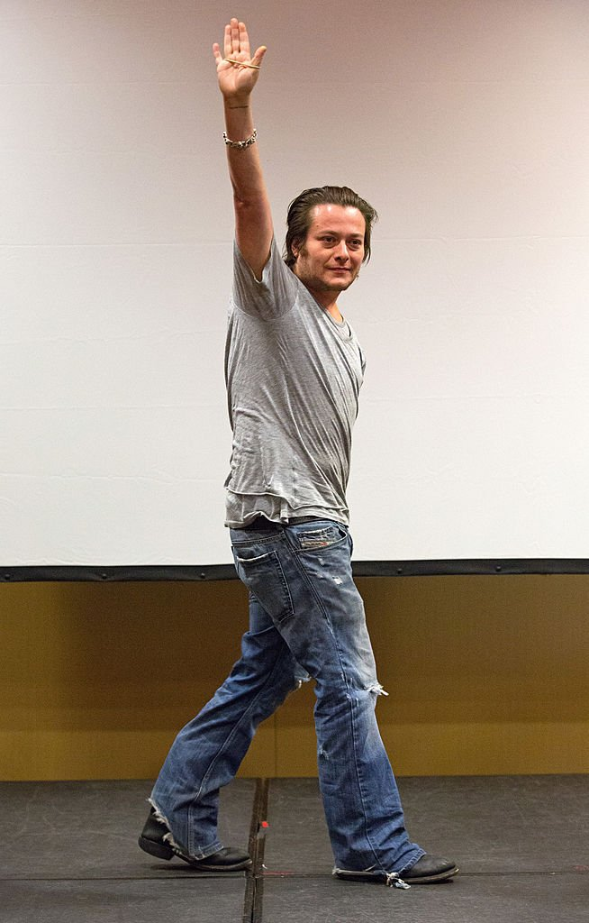Edward Furlong waves to the crowd during a Q&A at Horrorhound Weekend - Day 2 at Marriott Indianapolis on September 8, 2012 | Getty Images
