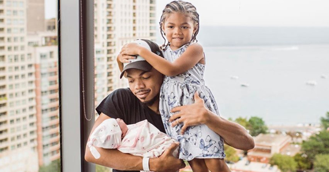 Chance the Rapper Posts 1st Pic with Daughters Kensli & Marli, Says 'the Big Day' Tour Is Postponed