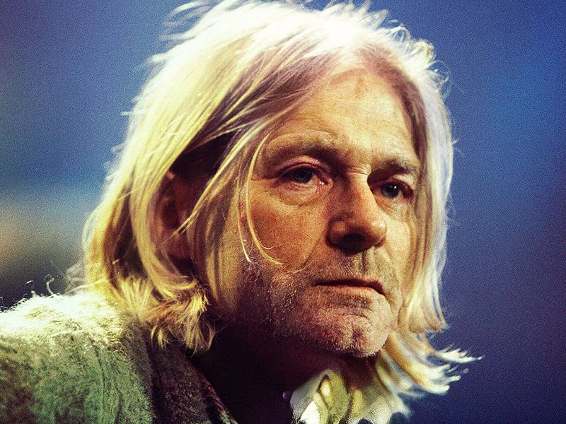 Photo-illustration of Kurt Cobain, age 54 | Source: Getty Images