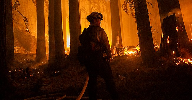 California's Firefighters Battling Wildfires Lose Their Own Homes in the Mountains