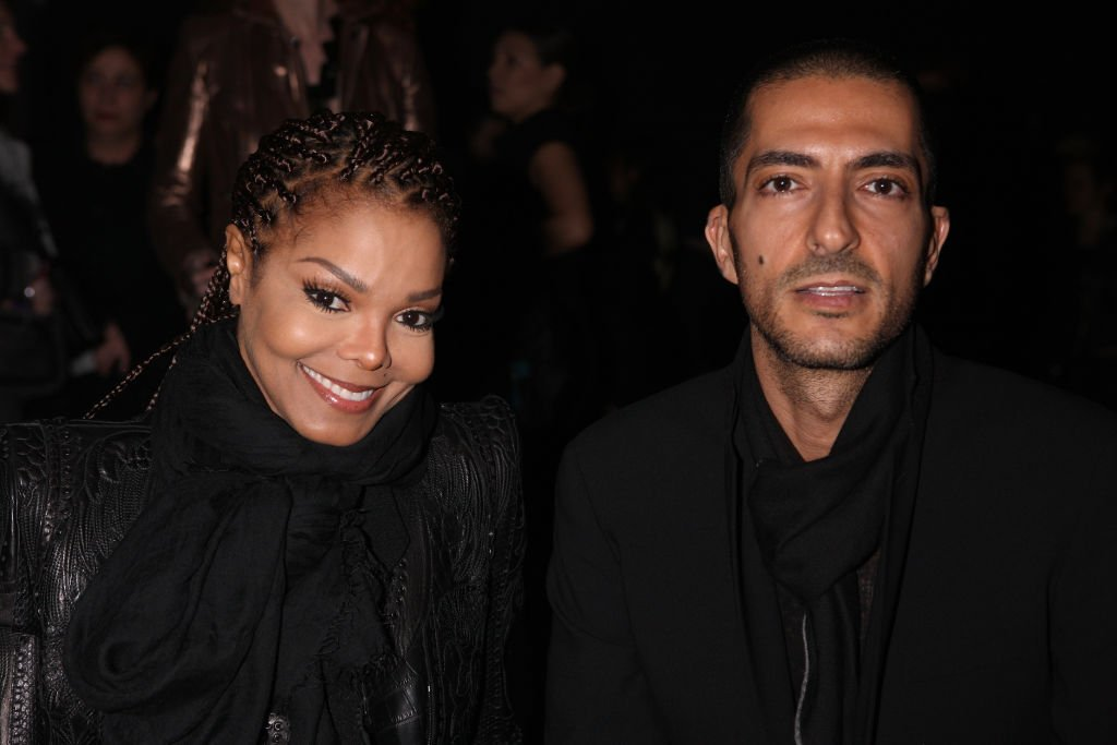 Janet Jackson and Wissam Al Mana at the Sergio Rossi presentation cocktail on February 21, 2013, in Milan | Photo: Getty Images