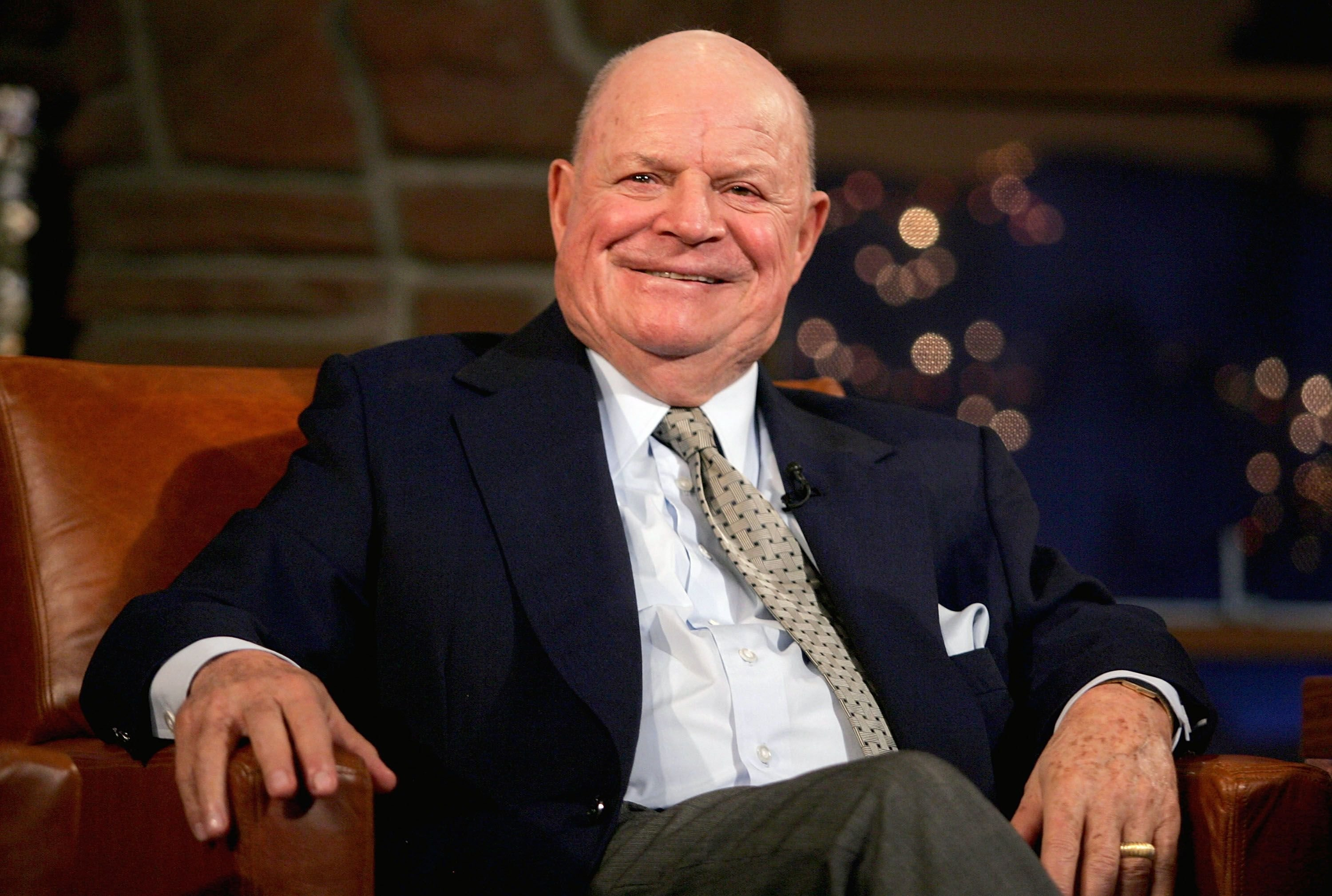 """Don Rickles on the """"Late Late Show"""" on March 1, 2005 in L.A. 