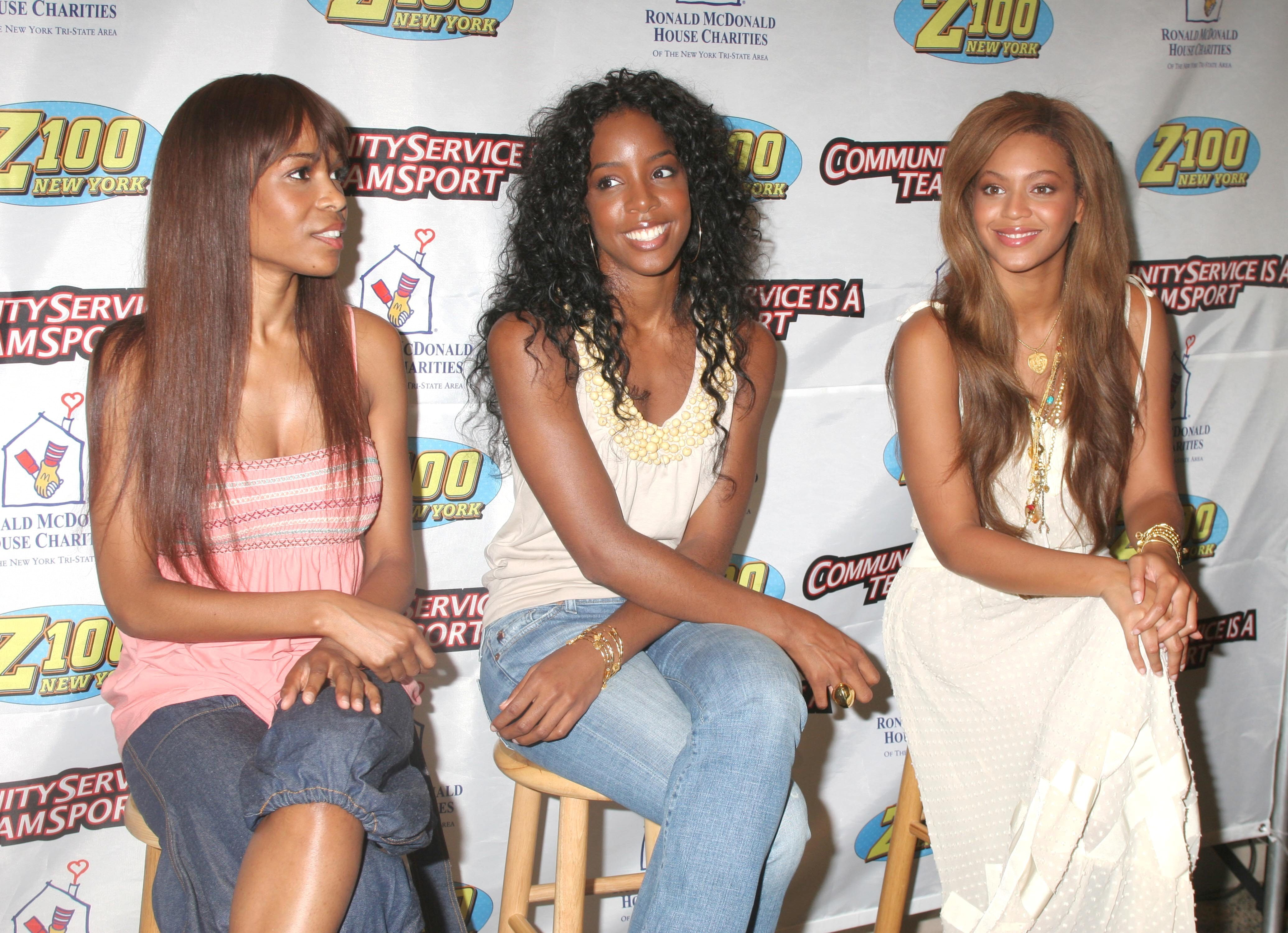 Destiny's Child arrives at Ronald NcDonald House in NYC for a cookie decorating event with children | Photo: Getty Images