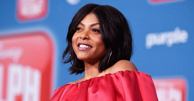 Taraji P Henson Shows off Her Modeling Skills in a Snake-Print Swimsuit in a New Photoshoot