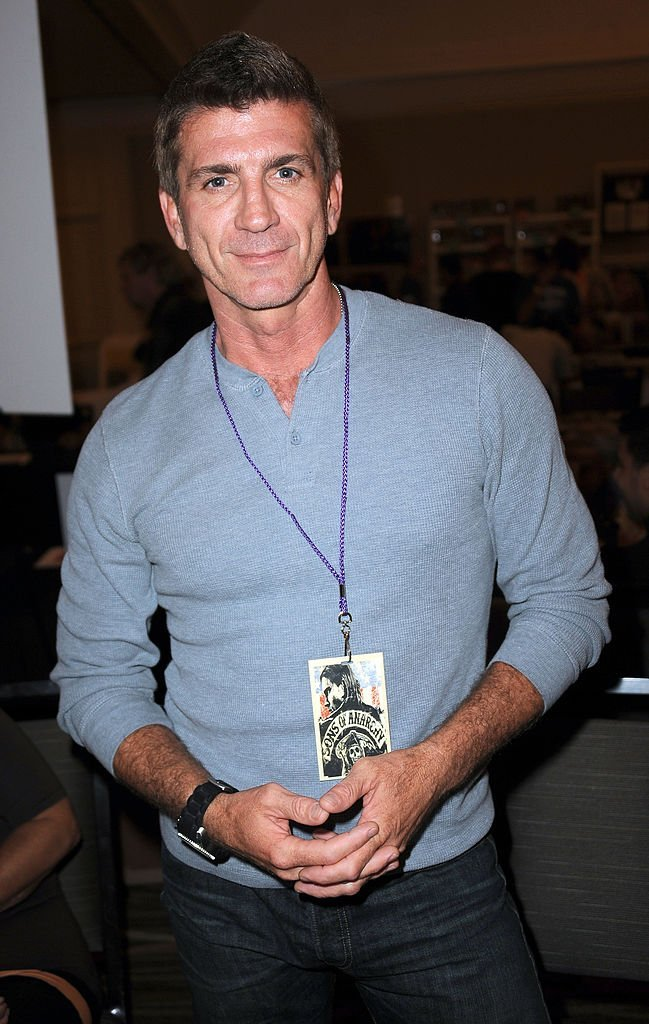 Joe Lando le 13 juillet 2013 à Los Angeles. l Source : Getty Images