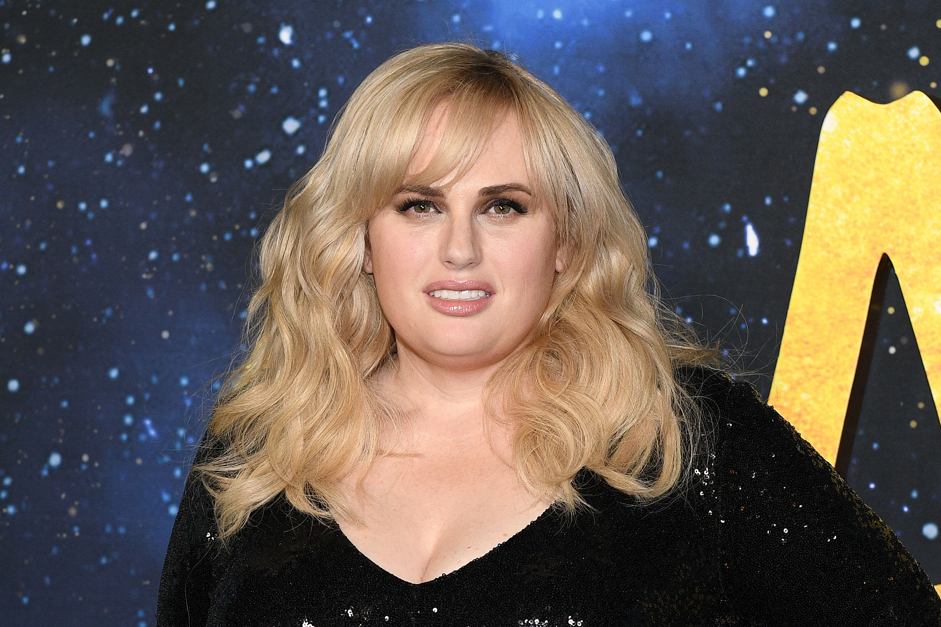 """Rebel Wilson at the world premiere of """"Cats"""" at Alice Tully Hall, Lincoln Center on December 16, 2019 