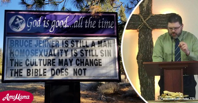 California pastor loses job because his most recent anti-LGBT church sign causes backlash