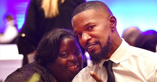DeOndra Dixon with her brother, Jamie Foxx at the Global Down Syndrome Foundation's 9th annual Be Beautiful Be Yourself Fashion Show at Sheraton Denver Downtown Hotel on November 11, 2017   Photo: Getty Images