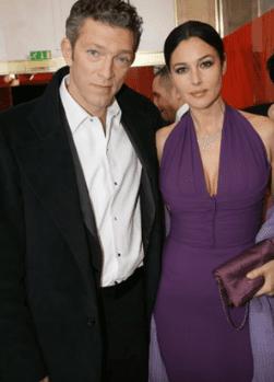 Vincent Cassel et Monica Bellucci.   Youtube/Welcome