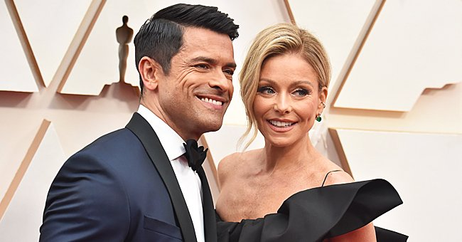 Kelly Ripa Celebrates Mark Consuelos' 50th Birthday with a Video Montage of Childhood Photos