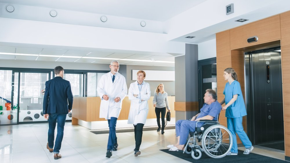 First Floor of a Busy Hospital | Photo: Shutterstock