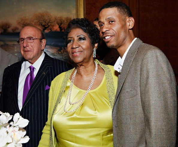 Singer Aretha Franklin and Kecalf Cunningham attend Aretha Franklin's 72nd Birthday Celebration in New York City   Photo: Getty Images