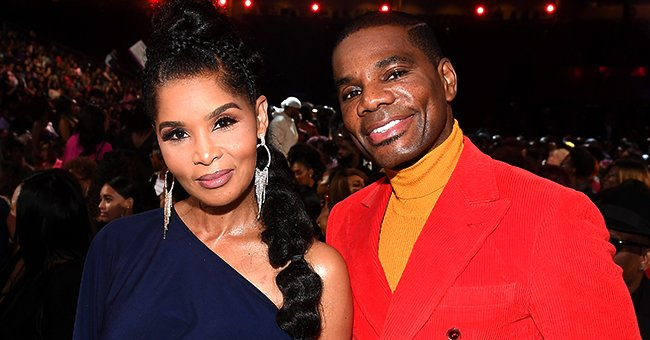 Kirk Franklin & His Wife Tammy Stun Dressed in Chic Matching Outfits on Their 25th Anniversary
