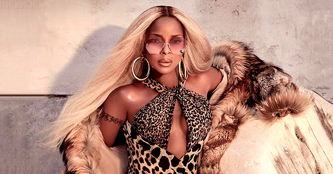 'No More Drama' Singer Mary J Blige Leaves Little to Imagination in Cheetah-Print Swimsuit & Coat