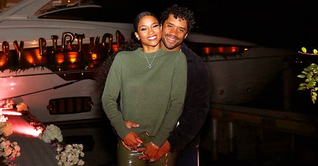 Ciara and Husband Russell Wilson Enjoy Yacht Dinner as They Celebrate Her 34th Birthday