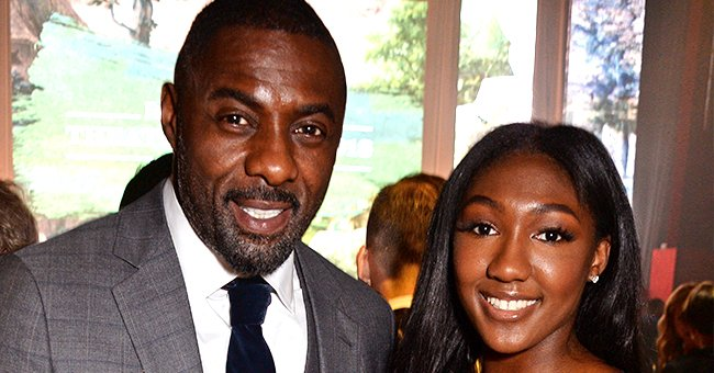 Idris Elba's Daughter Isan Is Now 17 and Looks a Lot like  Dad in Gorgeous Photo