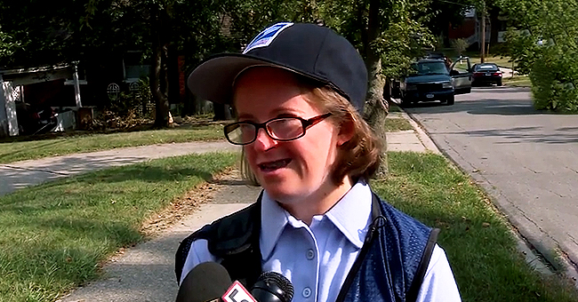 Grace Flannery with Down Syndrome Fulfills Her Wish of Being a Mail Carrier for a Day