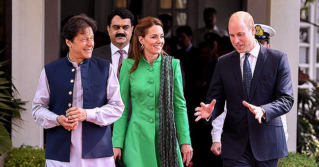 Kate et William rencontrent le premier ministre pakistanais, un vieil ami de Diana