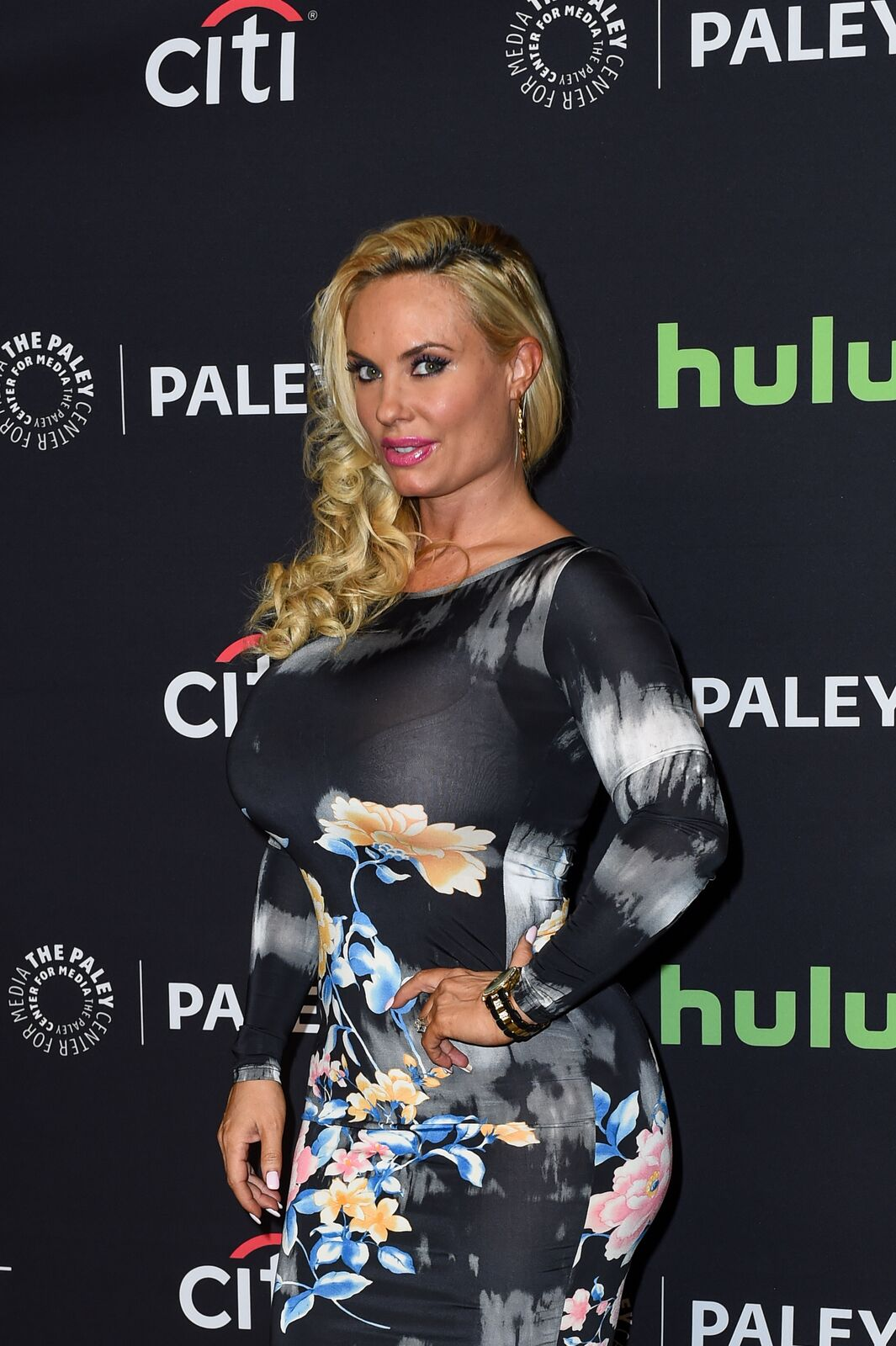 Coco Austin aka 'Coco' arrives at The Paley Center For Media's 33rd Annual PaleyFest Los Angeles at Dolby Theatre on March 19, 2016 | Photo: Getty Images