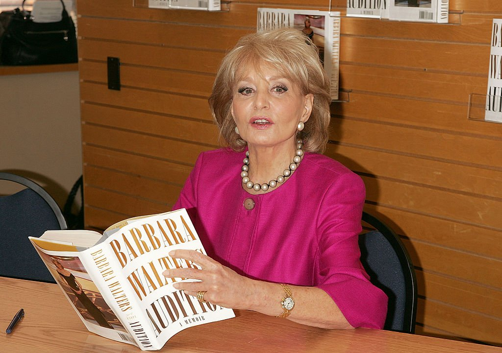 Barbara Walters signs copies of her book Audition: A Memoir at Barnes & Noble, Lincoln Square on May 6, 2008 in New York City.   Source: Getty Images