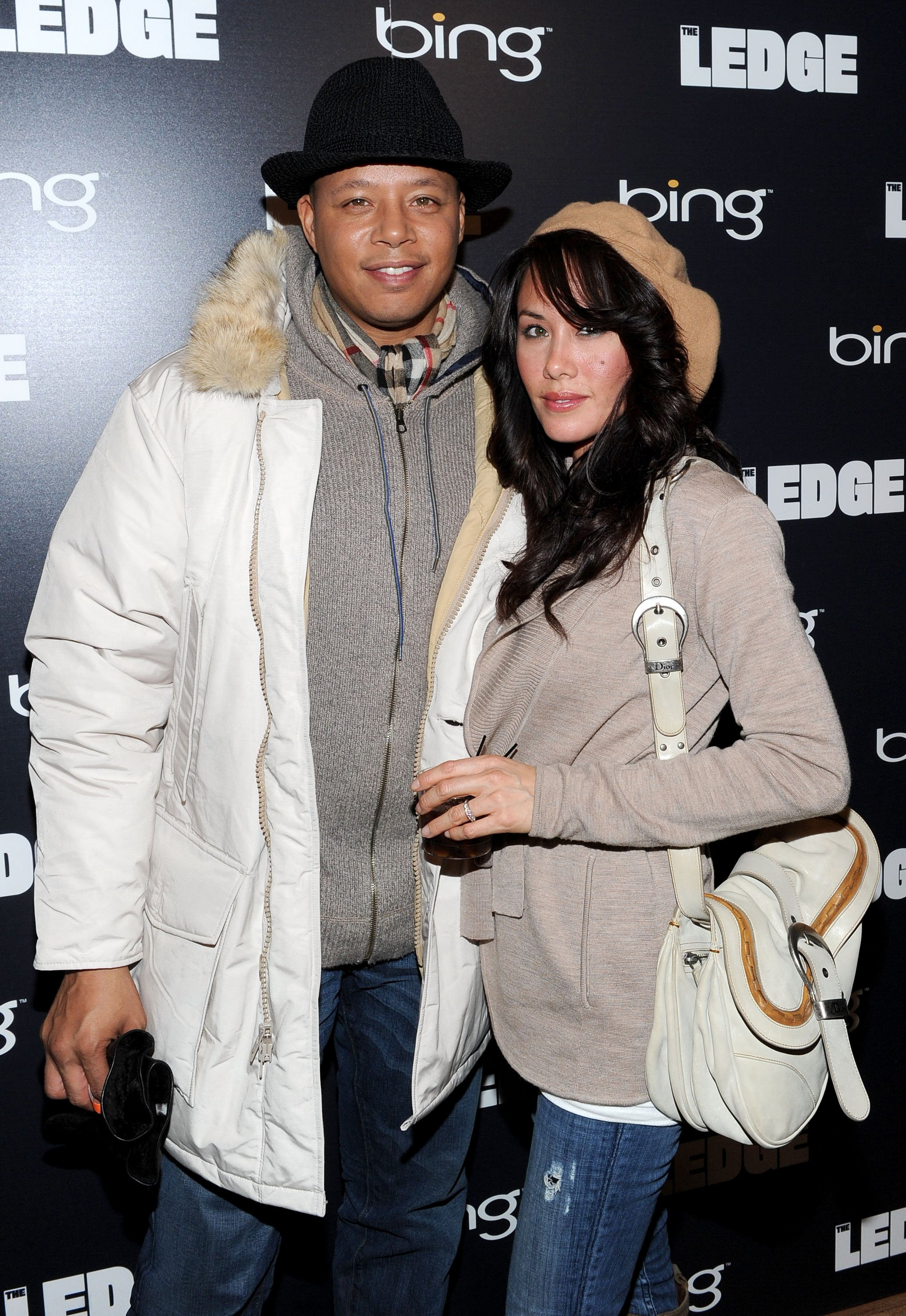Terrence Howard & Michelle Ghent attend the Bing Bar on Jan. 21, 2011 in Park City, Utah | Photo: Getty Images