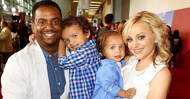 Alfonso Ribeiro's Wife Shares Cute Photo with Husband and His 4 Kids, Including Elder Daughter