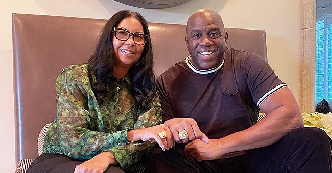 Magic Johnson & Wife of 29 Years Slammed for Flaunting Matching Lakers Rings — See Reactions