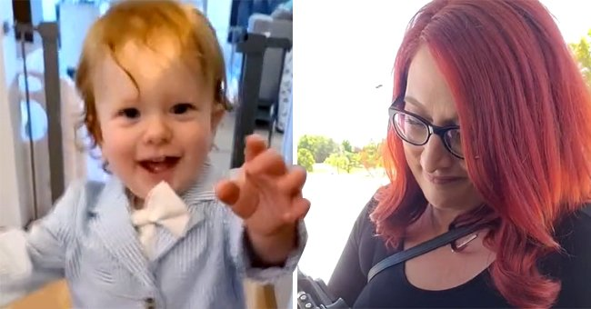 Mom takes her baby into a job interview with her | Photo: TikTok/@314handcrafted