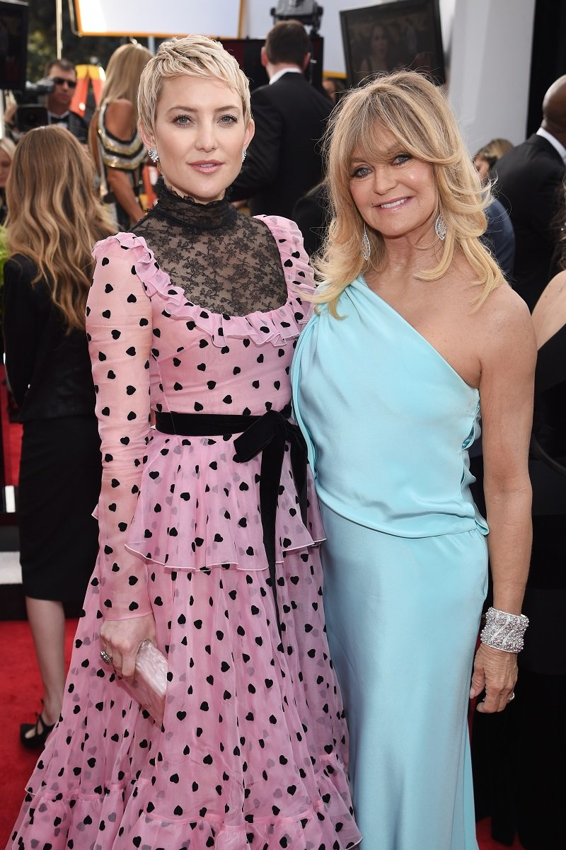 Kate Hudson and Goldie Hawn on January 21, 2018 in Los Angeles, California | Photo: Getty Images
