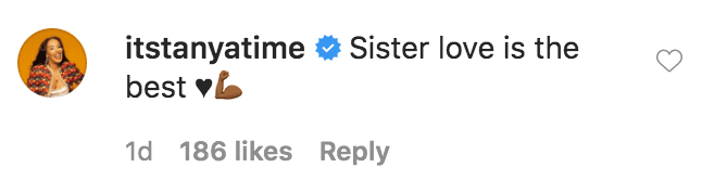 Tanya Sam commented on a photo of Porsha Williams and her sister Lauren Williams | Source: instagam.com/porsha4real