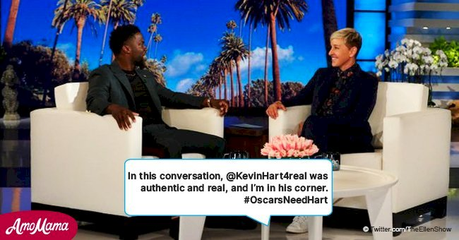 Ellen DeGeneres defends Kevin Hart & tries to win him back his Oscars hosting gig