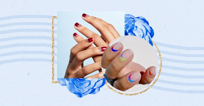 Exploring The Reverse French Manicure Trend