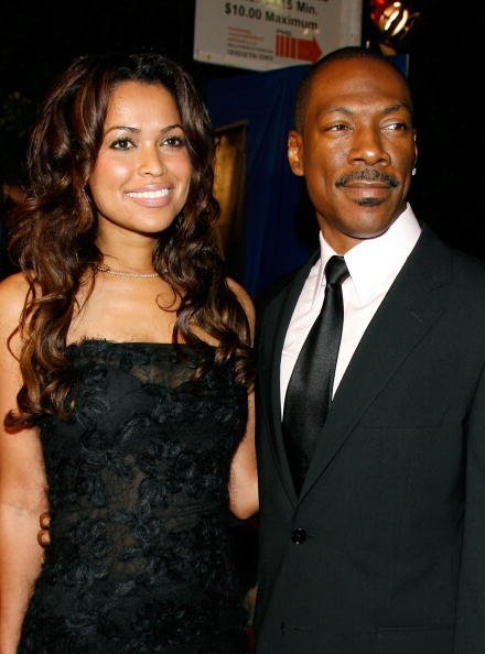 Eddie Murphy and Tracey Edmonds at the Wilshire Theatre on December 11, 2006 in Beverly Hills, California. | Photo: Getty Images
