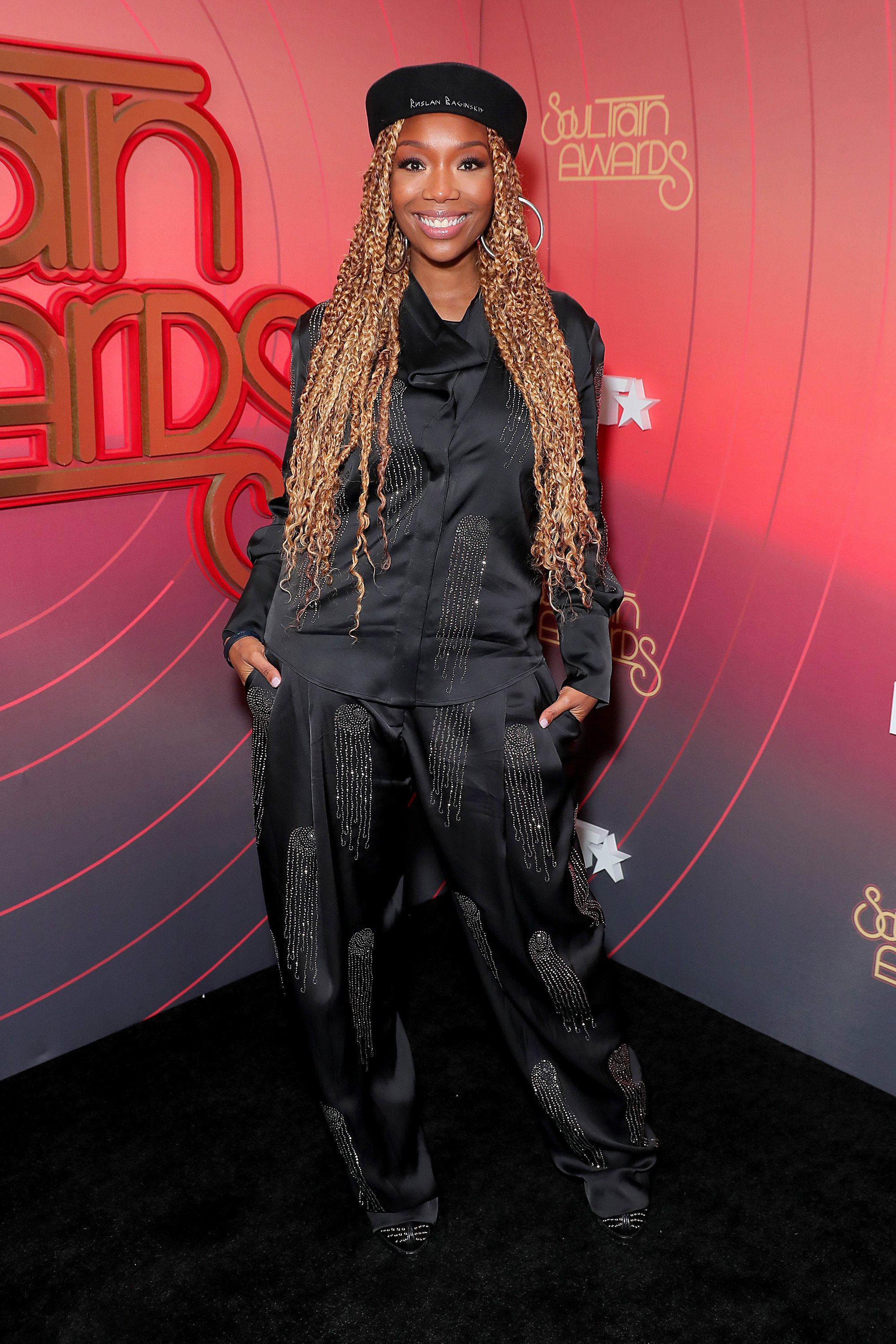 Brandy at the 2020 Soul Train Awards presented by BET | Source: Getty Images