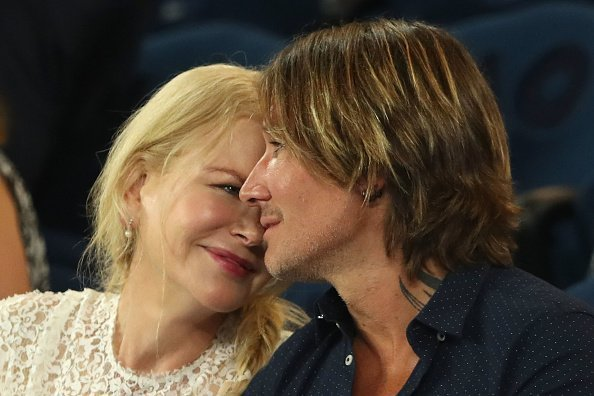 Nicole Kidman and Keith Urban at Women's Semi Final match in Melbourne, Australia. | Photo: Getty Images.