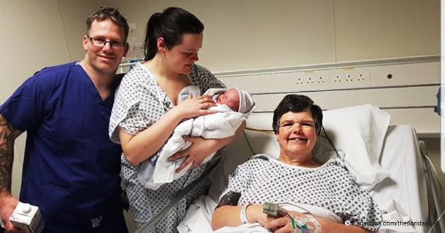 Mujer da a luz a su propio nieto con el esperma de su yerno