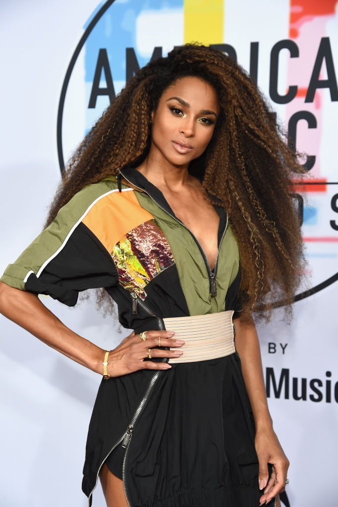 Ciara at the red carpet of the 2018 American Music Awards. | Photo: Getty Images