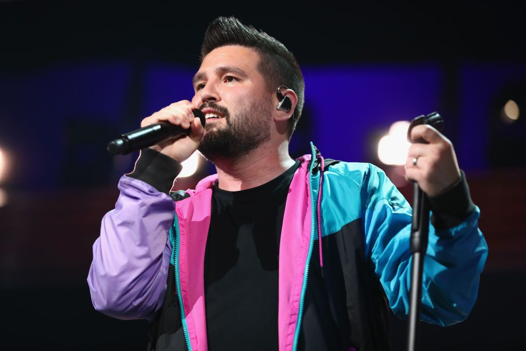 Shay Mooney of Dan + Shay onstage at the 2019 iHeartCountry Festival in Austin, Texas   Source: Getty Images