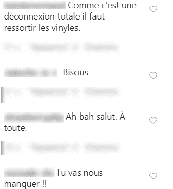 Capture des commentaires sur la publication de Lolita Séchan | Photo : Instagram/lolasechan