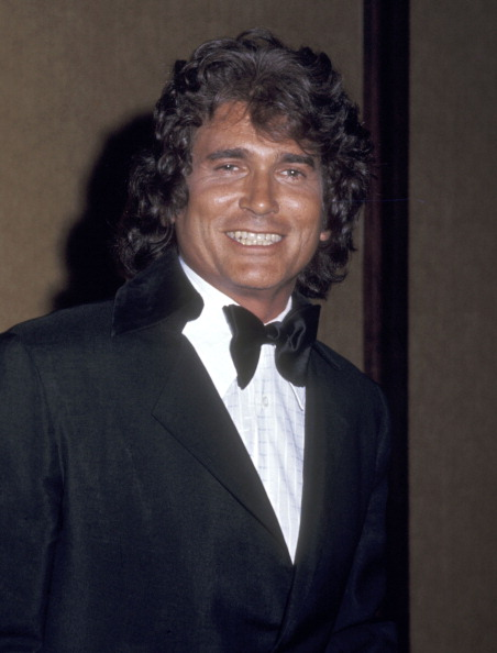 Michael Landon attends the Hollywood Radio and Television Society's 16th Annual International Broadcasting Awards on March 4, 1976 in California | Photo: Getty Images