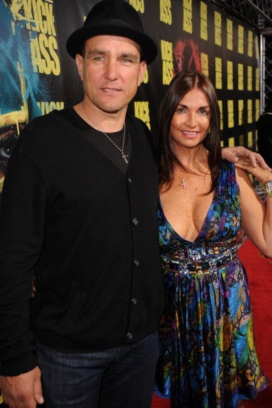 Vinnie Jones et Tanya Jones à ArcLight Hollywood à Hollywood, Californie | Photo : Getty Images