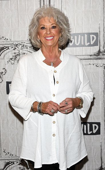 Chef Paula Deen discussing her new cookbook, 'At The Southern Table in New York City. | Photo: Getty Images