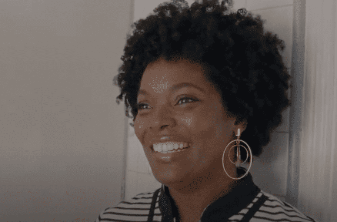"Yara Shahidi's mom Keri during a scene in the 2018 film, ""To Mom With Love"" by Margaret Zhang. 
