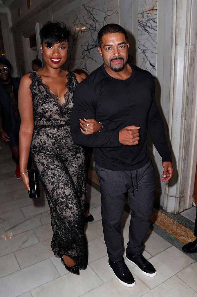 Jennifer Hudson and David Otunga attend the Marchesa Spring 2016 fashion show during New York Fashion Week at St. Regis Hotel on September 16, 2015 | Photo: GettyImages