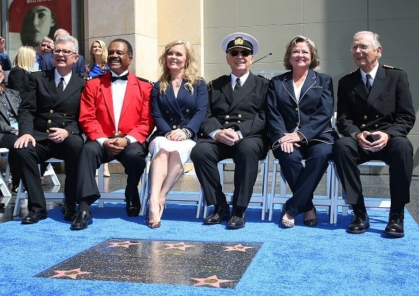 """The Love Boat"" original cast in Hollywood, California on May 10, 2018 